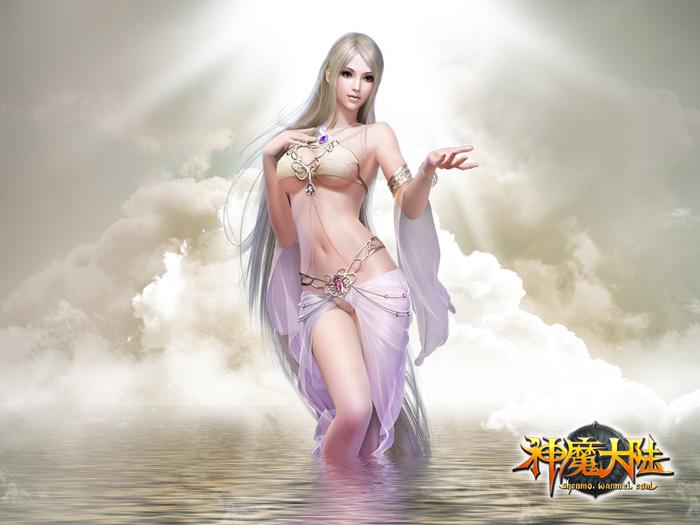 Nữ thần gợi cảm trong Thần Ma Đại Lục - Ảnh 11