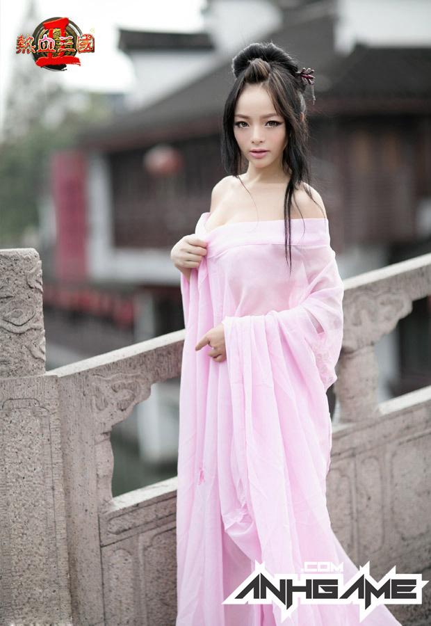 """""""Bỏng mắt"""" với cosplay Nhiệt Huyết Tam Quốc II - Ảnh 3"""