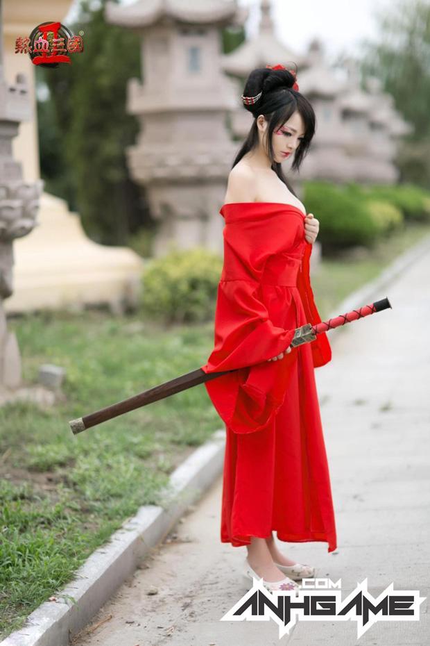 """""""Bỏng mắt"""" với cosplay Nhiệt Huyết Tam Quốc II - Ảnh 9"""