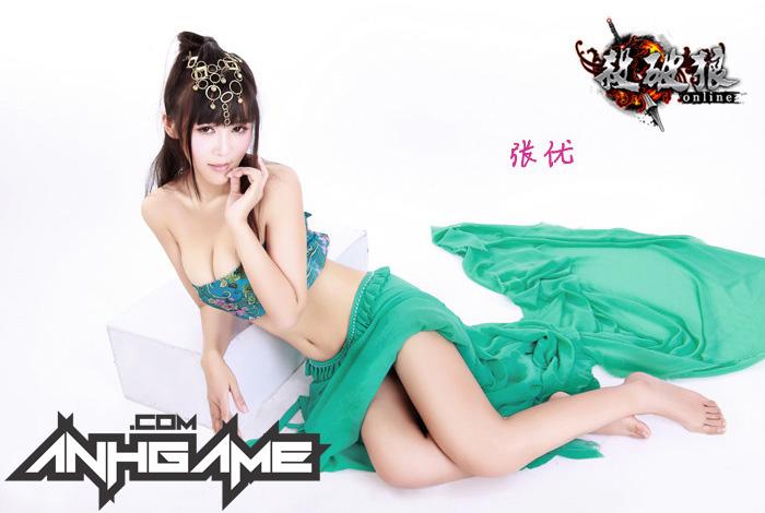 """Cosplay """"khoe bưởi"""" của Sát Phá Lang Online - Ảnh 9"""
