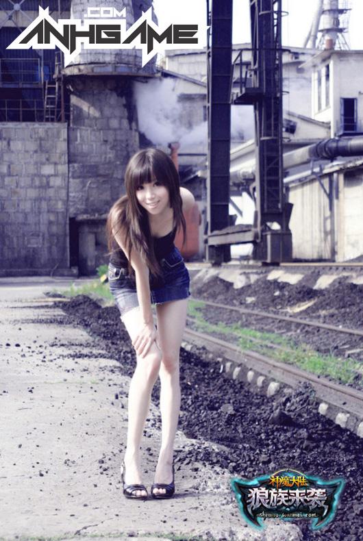Showgirl xinh đẹp của Thần Ma Đại Lục - Ảnh 3