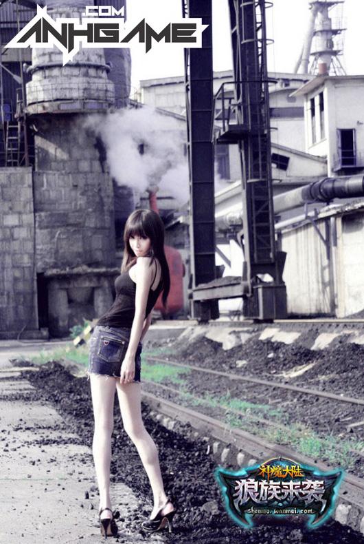 Showgirl xinh đẹp của Thần Ma Đại Lục - Ảnh 5