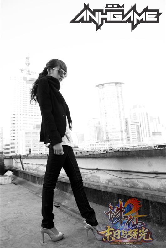 Nữ game thủ gợi cảm của Tru Tiên 2 - Ảnh 8