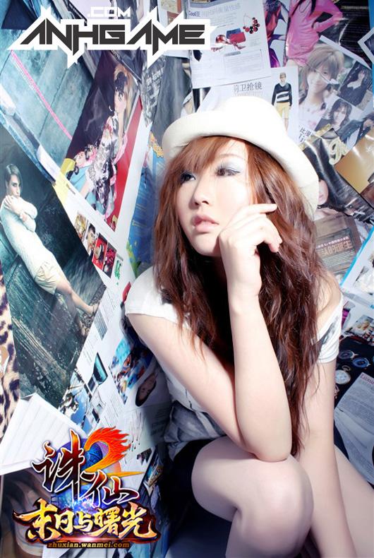 Nữ game thủ gợi cảm của Tru Tiên 2 - Ảnh 9