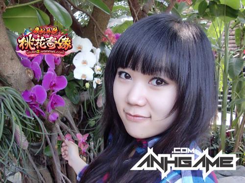 Vẻ đẹp đáng yêu của nữ game thủ Võ Lâm Ngoại Truyện 2 - Ảnh 3