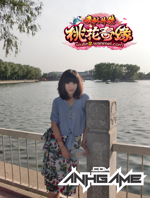 Vẻ đẹp đáng yêu của nữ game thủ Võ Lâm Ngoại Truyện 2 - Ảnh 5