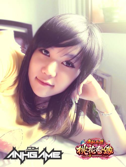 Vẻ đẹp đáng yêu của nữ game thủ Võ Lâm Ngoại Truyện 2 - Ảnh 8
