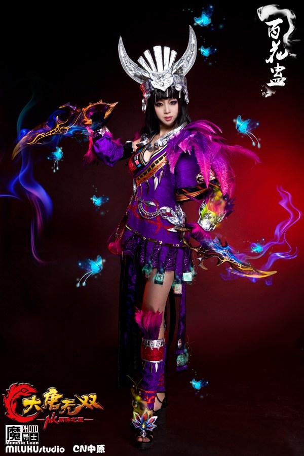 Miluku gợi cảm với cosplay Đại Đường Vô Song - Ảnh 4