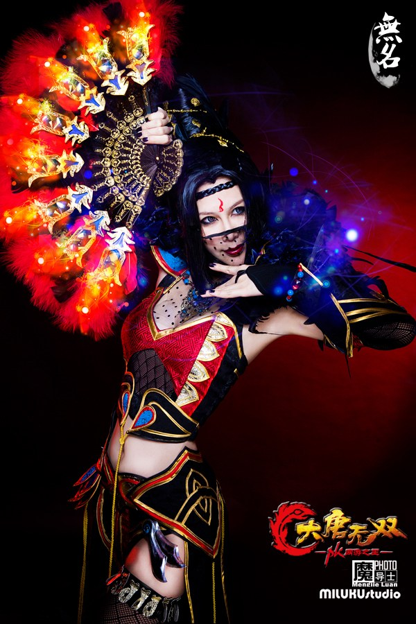 Miluku gợi cảm với cosplay Đại Đường Vô Song - Ảnh 12