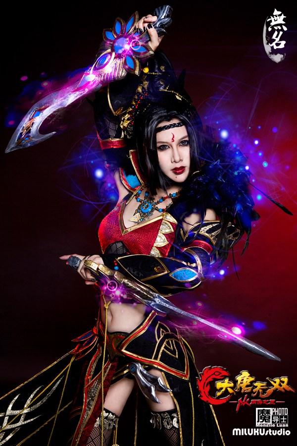 Miluku gợi cảm với cosplay Đại Đường Vô Song - Ảnh 14
