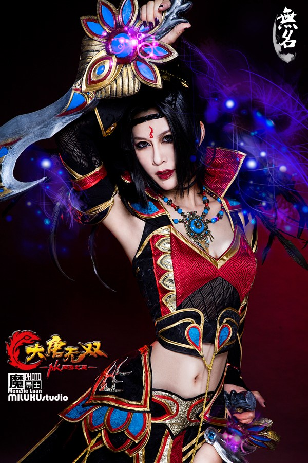 Miluku gợi cảm với cosplay Đại Đường Vô Song