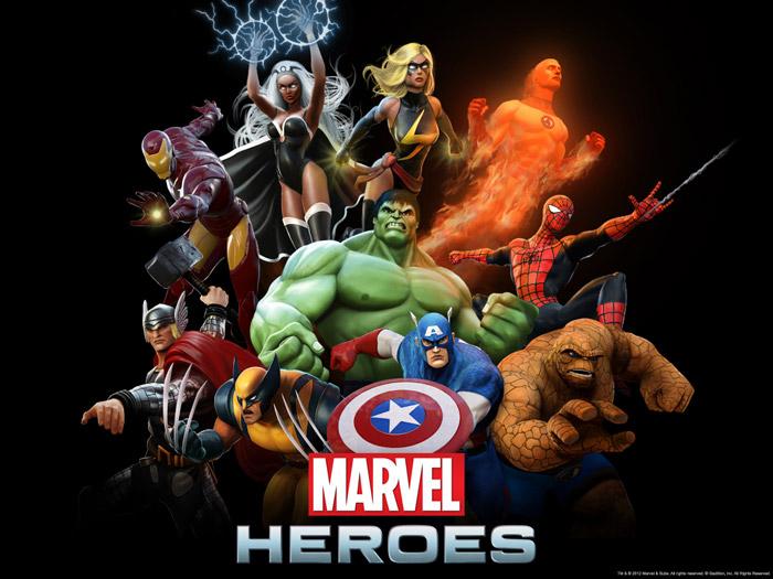 Ngắm các siêu anh hùng trong Marvel Heroes - Ảnh 1