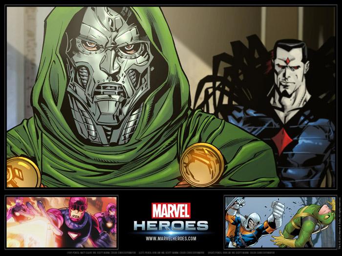 Ngắm các siêu anh hùng trong Marvel Heroes - Ảnh 3