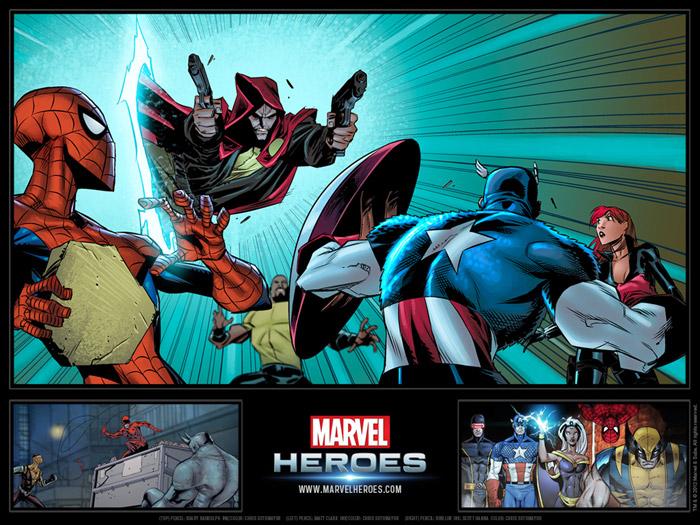 Ngắm các siêu anh hùng trong Marvel Heroes - Ảnh 4
