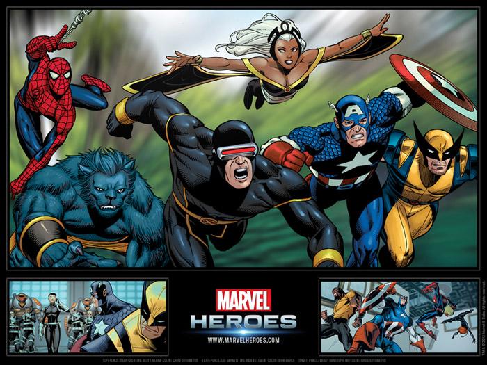 Ngắm các siêu anh hùng trong Marvel Heroes - Ảnh 5