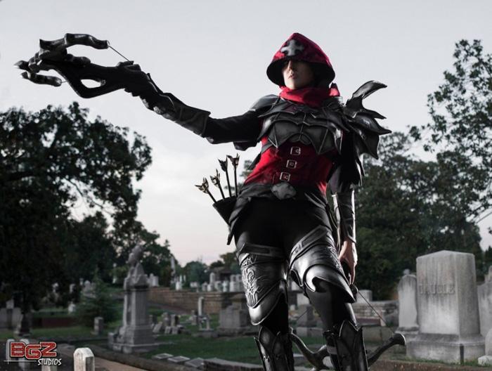 Cosplay tuyệt đẹp về Demon Hunter trong Diablo III