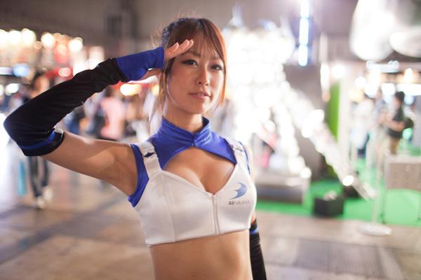 Ngắm dàn showgirl xinh đẹp tại Tokyo Game Show 2012 (1) - Ảnh 11