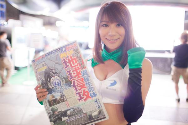 Ngắm dàn showgirl xinh đẹp tại Tokyo Game Show 2012 (2) - Ảnh 2