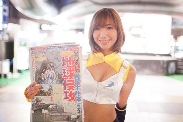 Ngắm dàn showgirl xinh đẹp tại Tokyo Game Show 2012 (2) - Ảnh 6