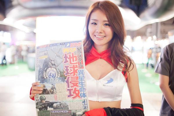 Ngắm dàn showgirl xinh đẹp tại Tokyo Game Show 2012 (2) - Ảnh 8