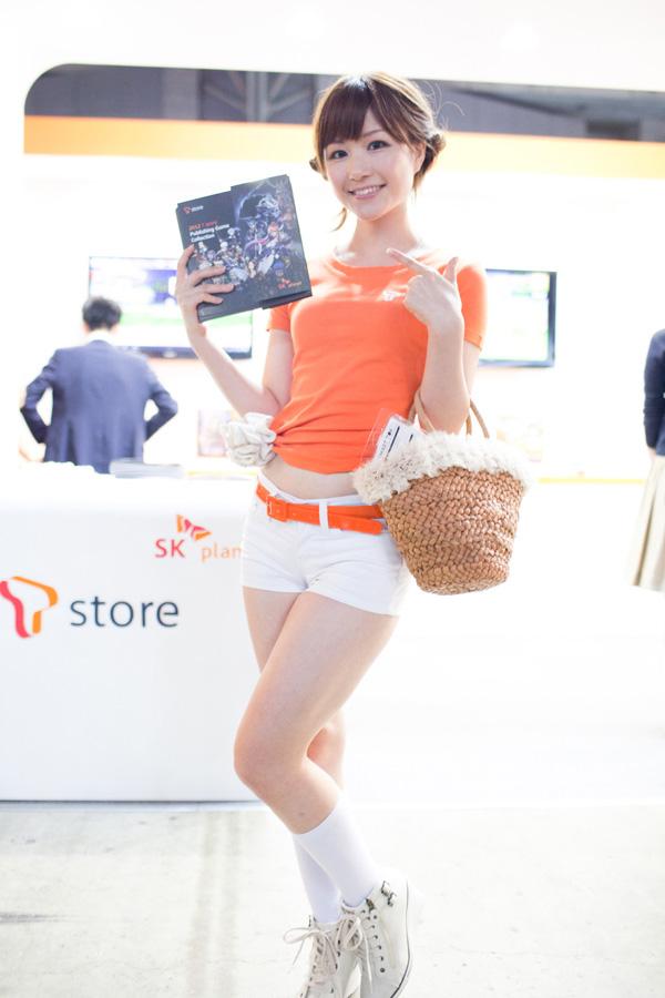 Ngắm dàn showgirl xinh đẹp tại Tokyo Game Show 2012 (3) - Ảnh 6