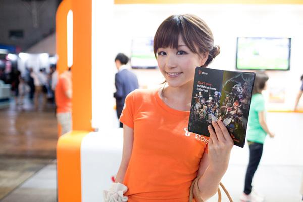 Ngắm dàn showgirl xinh đẹp tại Tokyo Game Show 2012 (3) - Ảnh 7