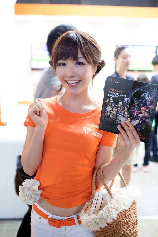 Ngắm dàn showgirl xinh đẹp tại Tokyo Game Show 2012 (3) - Ảnh 8