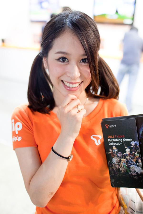 Ngắm dàn showgirl xinh đẹp tại Tokyo Game Show 2012 (3) - Ảnh 9