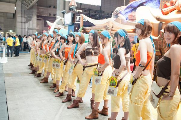 Ngắm dàn showgirl xinh đẹp tại Tokyo Game Show 2012 (4) - Ảnh 11