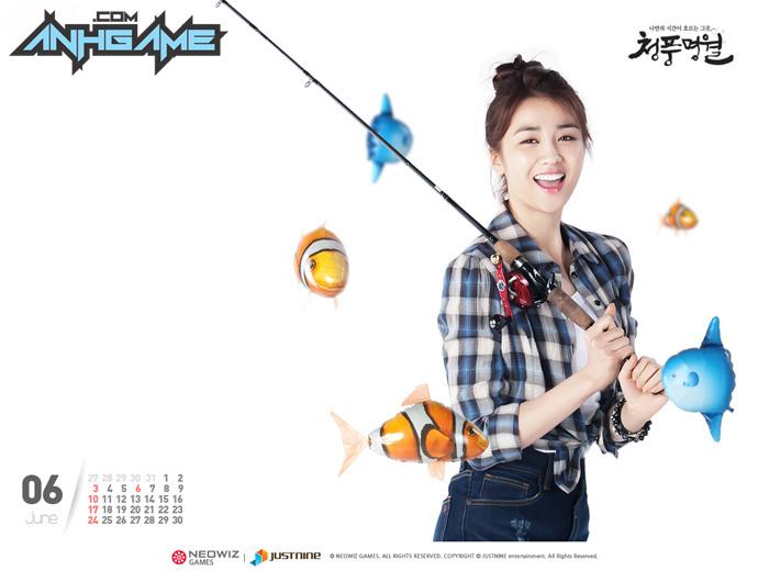Park Ha Sun trẻ trung với cosplay World Fishing
