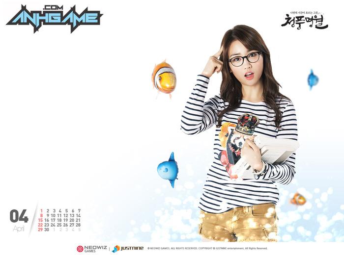 Park Ha Sun trẻ trung với cosplay World Fishing - Ảnh 3