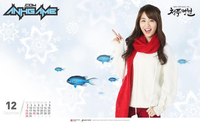 Park Ha Sun trẻ trung với cosplay World Fishing - Ảnh 4