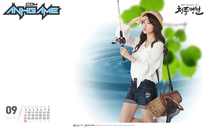 Park Ha Sun trẻ trung với cosplay World Fishing - Ảnh 7
