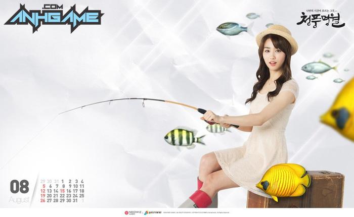 Park Ha Sun trẻ trung với cosplay World Fishing - Ảnh 9