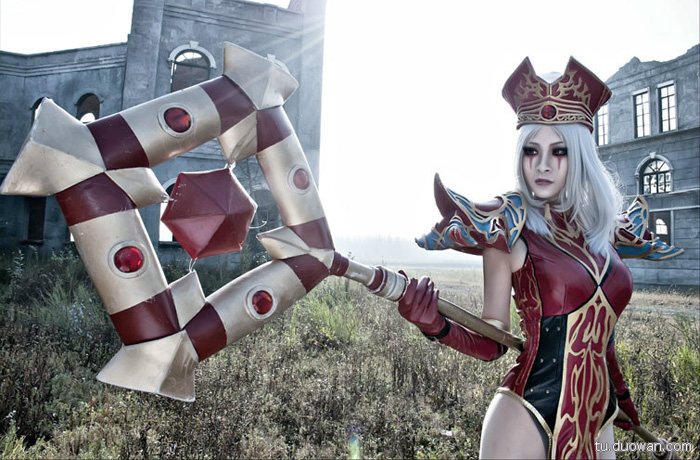 Cosplay Blood Elf trong World of Warcraft - Ảnh 2