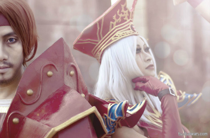 Cosplay Blood Elf trong World of Warcraft