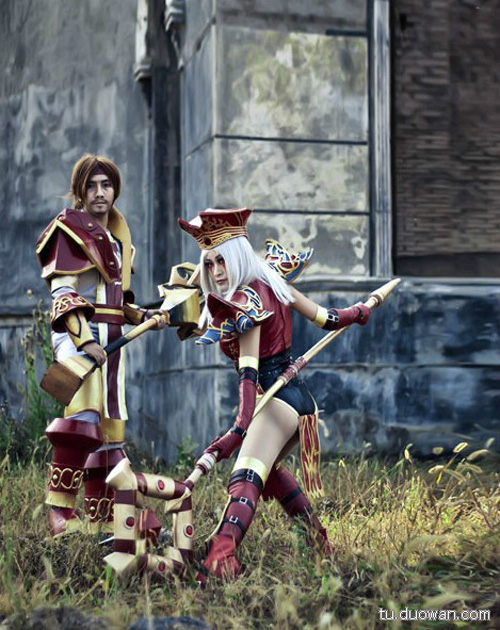 Cosplay Blood Elf trong World of Warcraft - Ảnh 9
