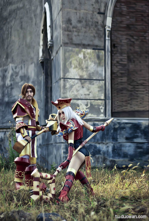Cosplay Blood Elf trong World of Warcraft - Ảnh 11