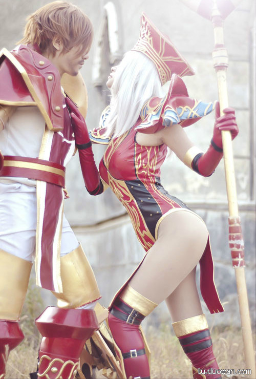 Cosplay Blood Elf trong World of Warcraft - Ảnh 12