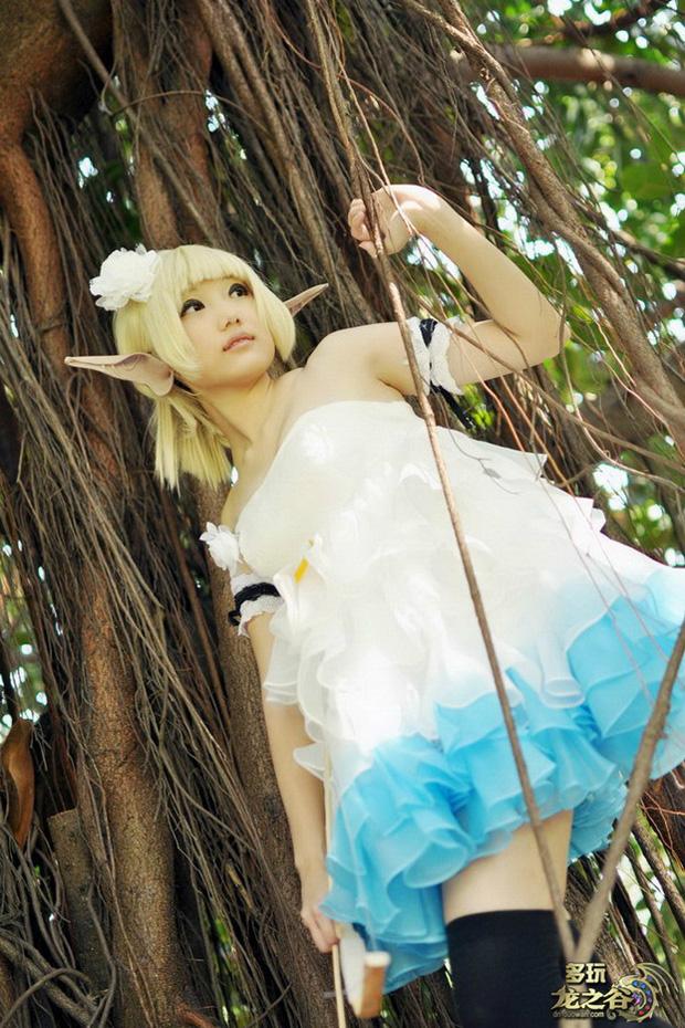 Nữ cung thủ đáng yêu trong Dragon Nest