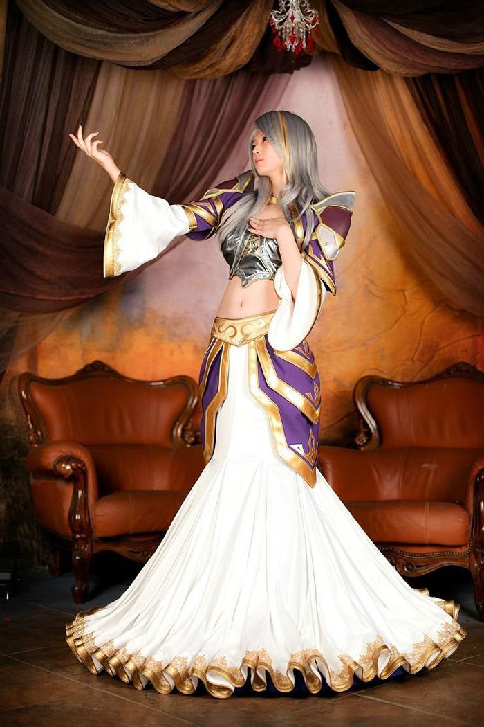 Loạt cosplay gợi cảm về World of Warcraft - Ảnh 5