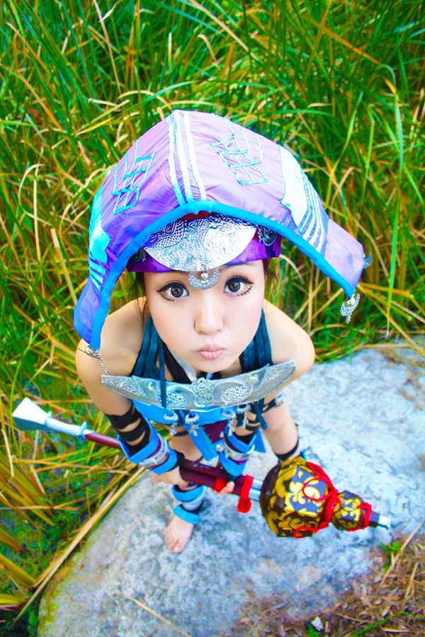 Tiểu nữ hiệp Ngũ Độc Giáo cực nhí nhảnh và đáng yêu - Ảnh 9