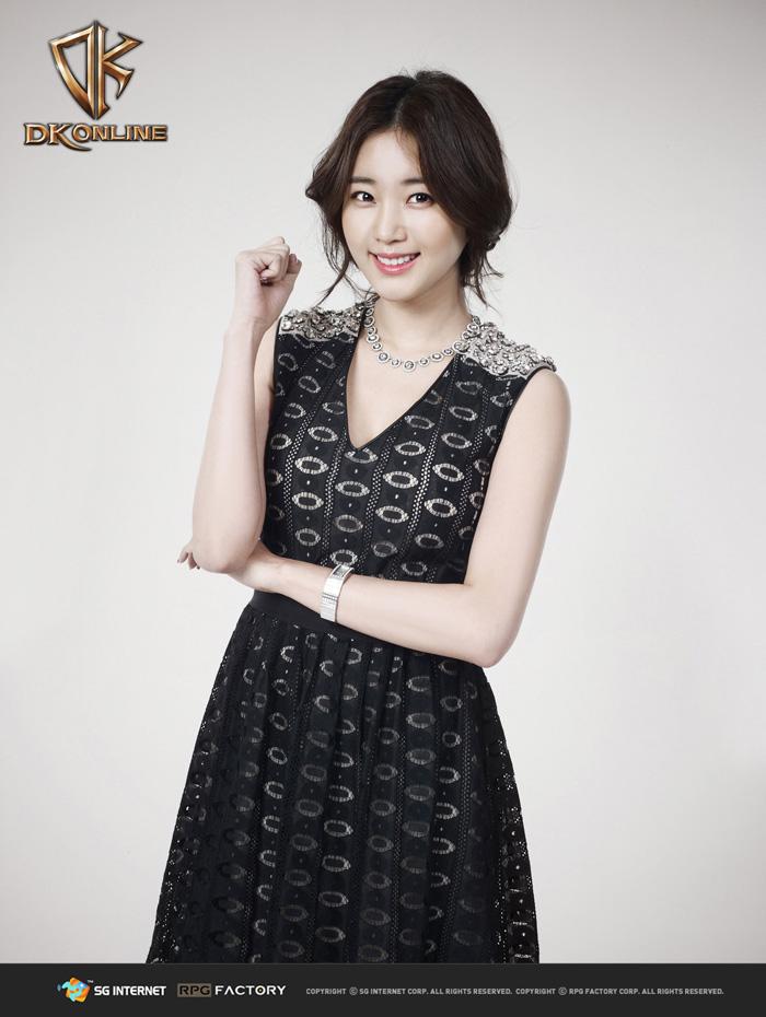 Kim Sa Rang gợi cảm trong ảnh quảng bá DK Online - Ảnh 4