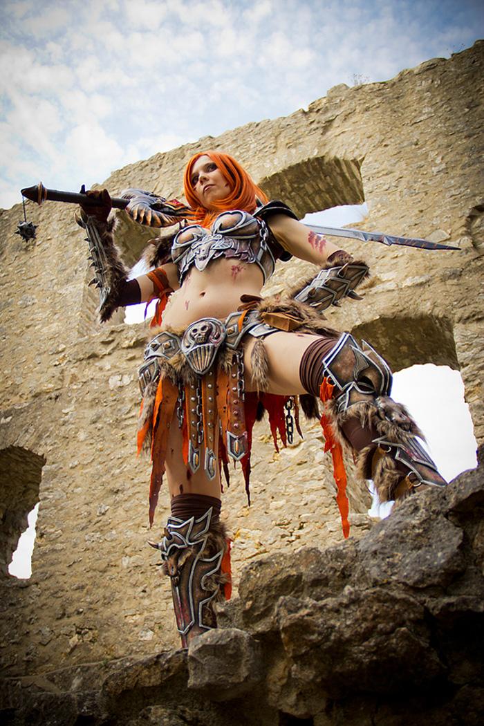 Bộ ảnh cosplay Barbarian tuyệt vời của Kamui - Ảnh 3