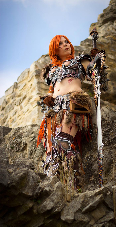 Bộ ảnh cosplay Barbarian tuyệt vời của Kamui - Ảnh 7