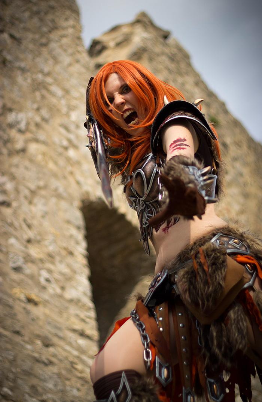 Bộ ảnh cosplay Barbarian tuyệt vời của Kamui - Ảnh 8