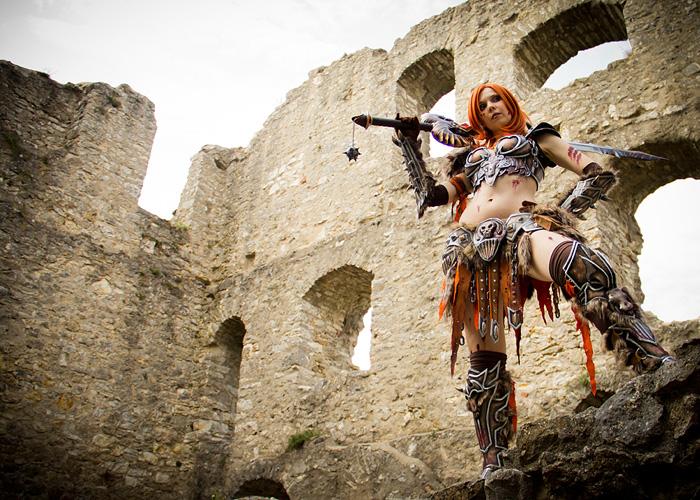 Bộ ảnh cosplay Barbarian tuyệt vời của Kamui - Ảnh 11