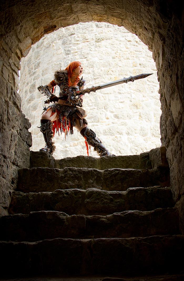 Bộ ảnh cosplay Barbarian tuyệt vời của Kamui - Ảnh 13