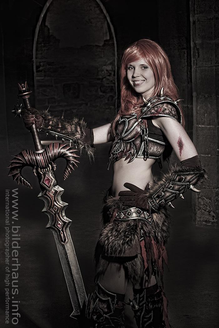 Bộ ảnh cosplay Barbarian tuyệt vời của Kamui - Ảnh 14