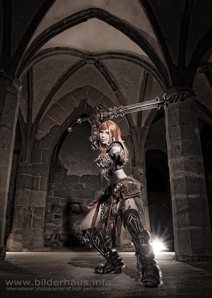 Bộ ảnh cosplay Barbarian tuyệt vời của Kamui - Ảnh 15